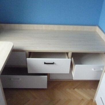 Polecam – łóżko z szufladami , PORZĄDEK MUSI BYĆ