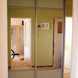 Szafy,  garderoby z drzwiami przesuwanymi